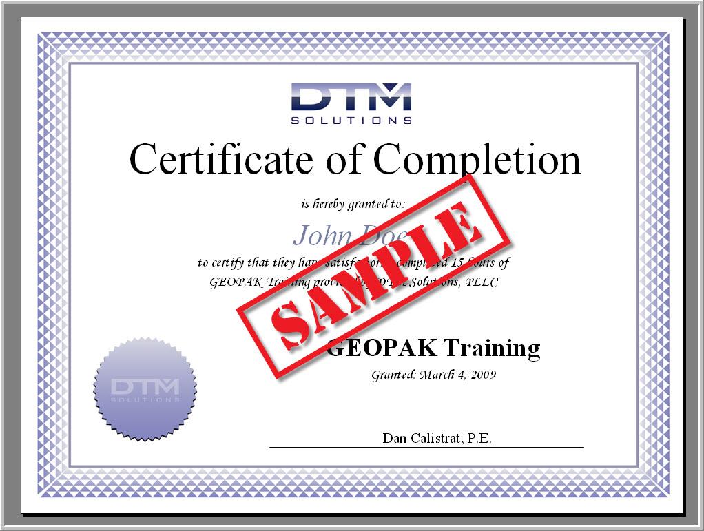 Dtm Solutions Geopak Training Amp Pdh Ceu Courses
